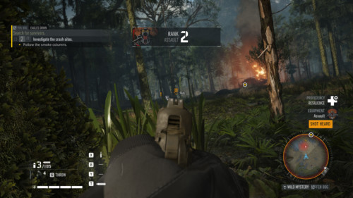 New rank screenshot of Tom Clancy's Ghost Recon: Breakpoint video game interface.