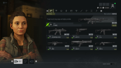 Store screenshot of Tom Clancy's Ghost Recon: Breakpoint video game interface.