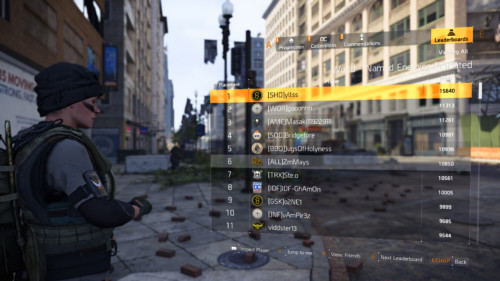 World named enemies defeated screenshot of Tom Clancy's The Division 2 video game interface.