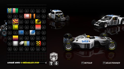 Paintworks screenshot of Trackmania Turbo video game interface.