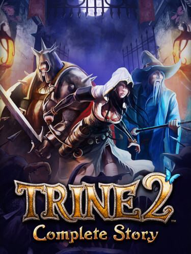 Cover media of Trine 2 video game.