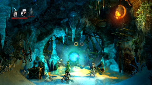 Cursor types screenshot of Trine 2 video game interface.