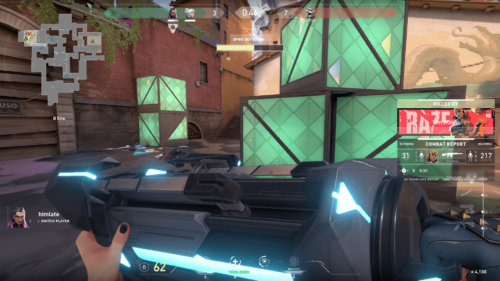 Spike initiating screenshot of Valorant video game interface.