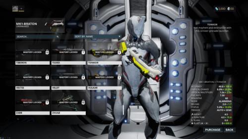 warframe-weapons