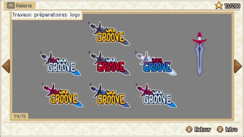 Gallery screenshot of Wargroove video game interface.