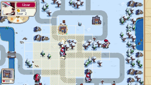 Move screenshot of Wargroove video game interface.