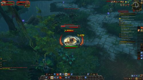 Attack screenshot of World of Warcraft video game interface.