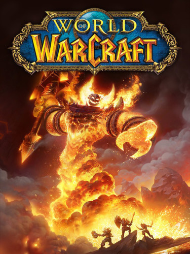 Cover media of World of Warcraft video game.