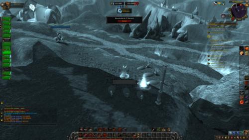 Resurrection screenshot of World of Warcraft video game interface.