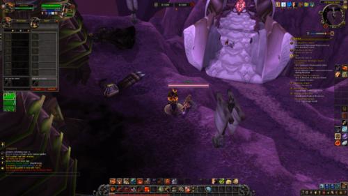 Trade screenshot of World of Warcraft video game interface.