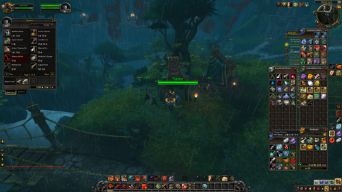 Vendor screenshot of World of Warcraft video game interface.