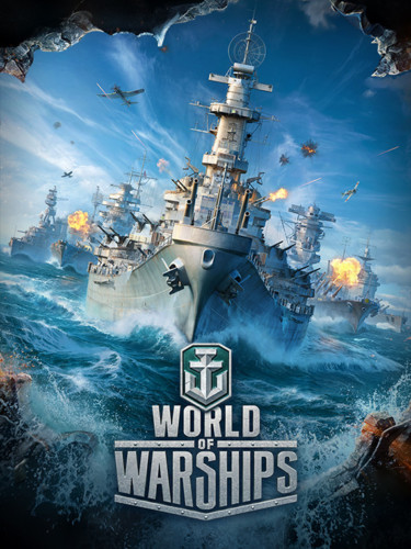 Cover media of World of Warships video game.